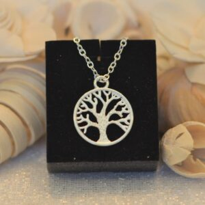 Stay by Tree Necklace